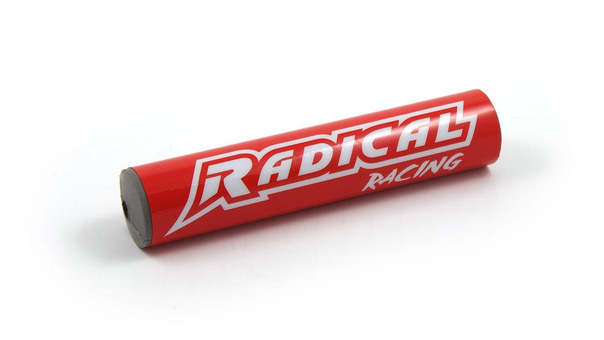 Radical Racing Barpad, Lenkerpolster fü r Downhilllenker, Motocross, Enduro, Handlebar, Crossbar Dirtbike, ATV, Pocketbike, Pad, Lenkerschutz, Lä nge: 24cm Farbe Rot