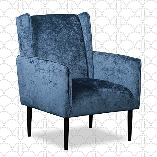 Elle Decor Baptiste Wingback Accent Chair