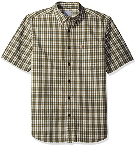 Carhartt Essential Plaid Button Sleeve