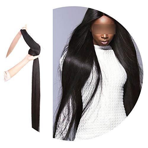 Wigirl Brazilian Hair Weave Bundles Straight Human Hair 28 30 40 Inch 10 Bundles Raw Virgin Hair Weft Hair Extension,14 14 14 ()