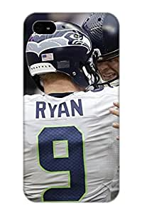 Ellent Design SEATTLE SEAHAWKS Nfl Football R Case Cover For Iphone 4/4s For New Year's Day's Gift