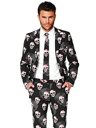 OppoSuits Halloween Costumes for Men – Full Suit: Includes Jacket, Pants and Tie -