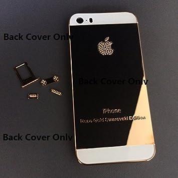 Amazon.com: Nueva Edición para iPhone 5S, Oro de 24 K Rose ...