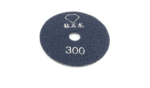 Uxcell 3.9-Inch Dia Grit 300 Tile Stone Wet Grinder Diamond Polishing Pad