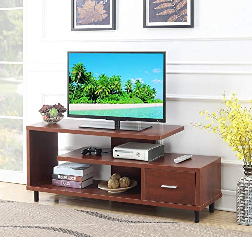 Convenience Concepts 151750CH Seal II TV Stand, 60-Inch, Cherry,