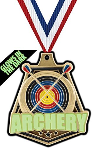 Crown Awards Gold Archery Medals - 2