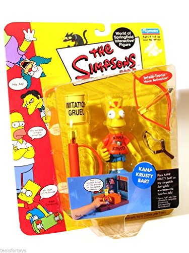 The Simpsons World of Springfield Interactive Figure (Simpson Interactive)