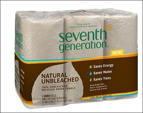 Seventh Generation Natural Unbleached Paper Towels Jumbo 6.0 ea (pack of 1)