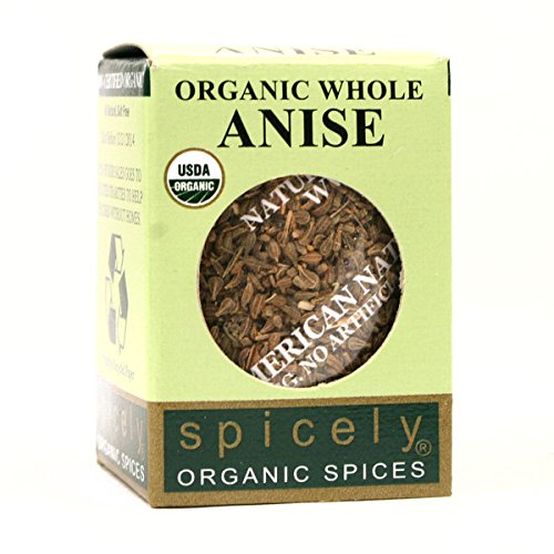 Photo of Spicely Organic Anise Seeds Whole