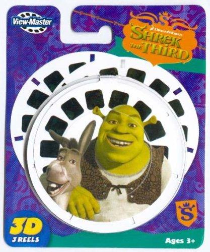 ViewMaster SHREK the THIRD (Shrek3) - 3 Reel Set