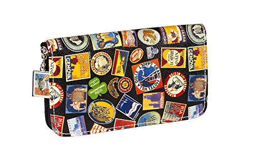 sydney-love-world-travel-print-zip-around-wallet-black-multi