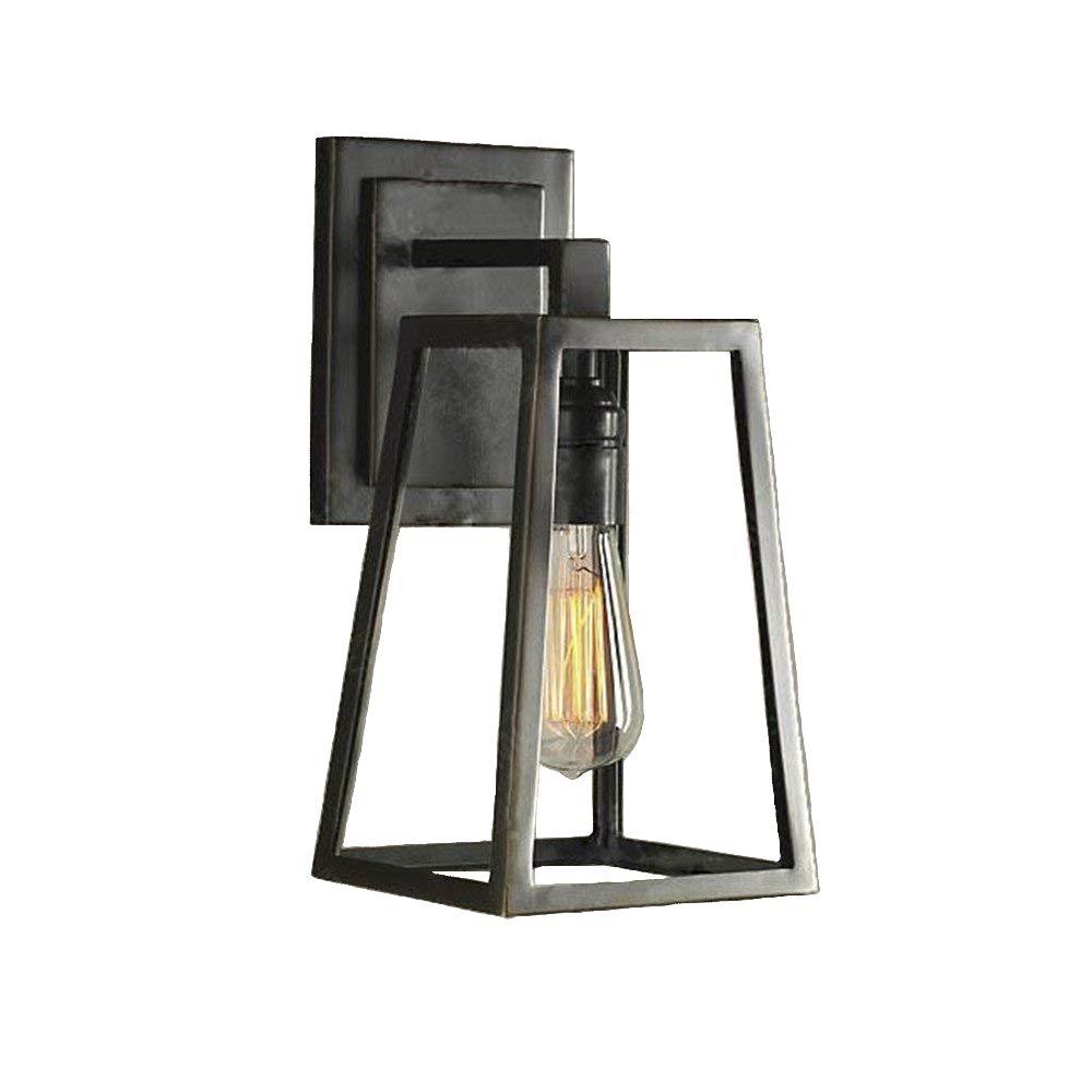 NIUYAO Industrie Wandleuchten Wandlampe Metall & & & Glas Style Vintage Retro Dekorative Leuchten-Bronze 019cb2