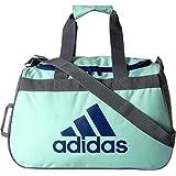 adidas Diablo Duffel Bag, Clear Mint Green/Mystery Ink Blue/Onix, One Size