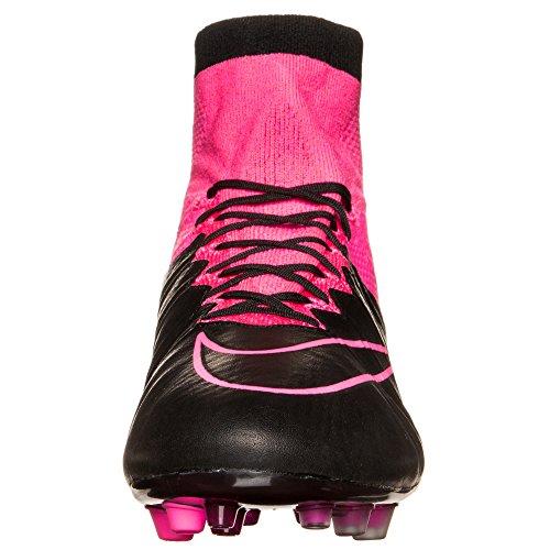 Nike - Botas de fútbol de cuero para hombre, hombre, negro, 46 EU negro