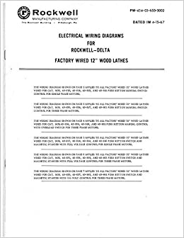 delta wiring diagrams delta rockwell electrical wiring diagrams factory wired 12  wood  delta rockwell electrical wiring