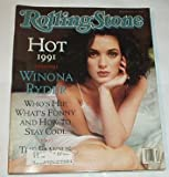 ROLLING STONE MAGAZINE ISSUE # 604------MAY 16TH, 1991----WINONA RYDER COVER !