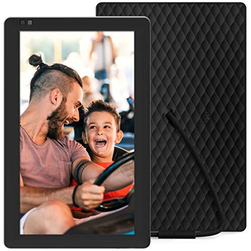 (Nixplay Seed 10.1 Inch Widescreen Digital Wi-Fi Photo Frame W10B Black - Digital Picture Frame with IPS Display and 10GB Online Storage, Display and Share Photos with Friends via Nixplay Mobile App)