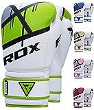 RDX Boxing Gloves Ego Muay Thai Training Maya Hide Leather Sparring Punching Bag Mitts kickboxing Fighting