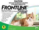 Merial Frontline Plus Flea and Tick Control for Cats and Kittens (6 doses). Prevents, Control, Kills