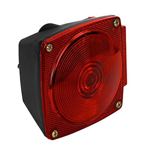 028845003116 - Blazer C6423 Square Trailer Light Kit - Red carousel main 4
