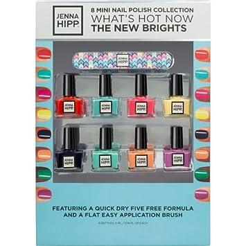 Amazon.com : Jenna Hipp The New Brights 8 Mini Nail Polish ...