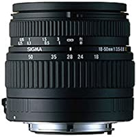 Sigma V9944 18-50mm f/3.5-5.6 & 55-200mm f/4-5.6 Lenses for Nikon SLR Cameras