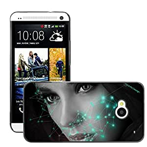 Super Stellar Slim PC Hard Case Cover Skin Armor Shell Protection // M00051482 3 face mo_5rx@yahoo.com creative // HTC ONE M7