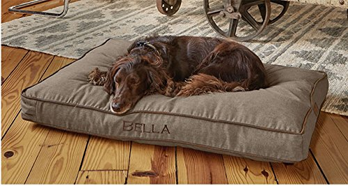 Orvis Platform Twill Dog Bed Cover / Xlarge, Khaki, X Large by Orvis