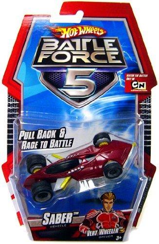 Hot Wheels Battle Force 5 164 Scale Pull Back Car Saber