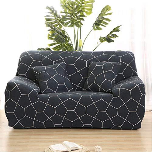 (Ranferuyk Elastic Sofa Covers for Living Room Sofa Towel Slip-Resistant Sofa Cover Strech Sofa Slipcover colour23 Pillowcase 2 Pieces)