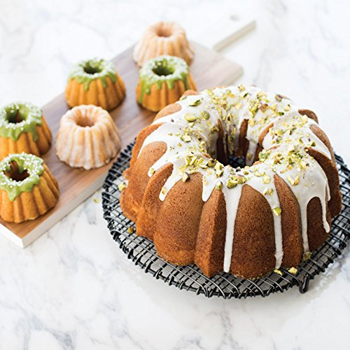 Nordic Ware ProForm Anniversary Bundt Pan with Handles by Nordic Ware