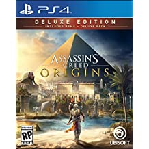 Assassins Creed Origins Deluxe Edition (Includes Extra Content) - PlayStation 4
