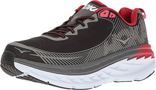 Hoka One One Mens Bondi 5 Running Shoe,  Grey - Men's size 11.5 US