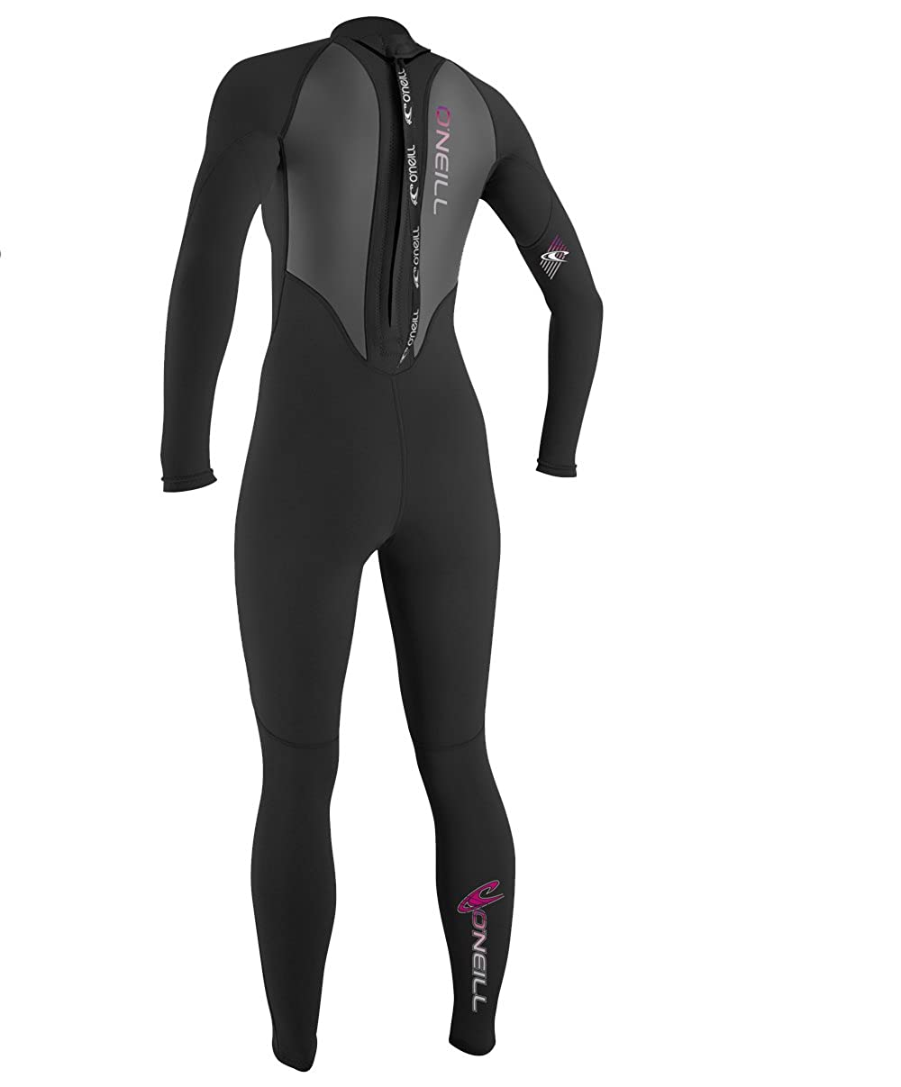 O Neill Women S Reactor 3 2mm Back Zip Full Wetsuit