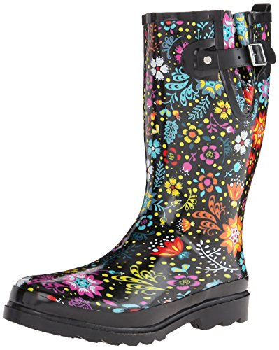 Chief Women's Rain Printed Play Boot Western Garden Waterproof Tall 1Hwqx