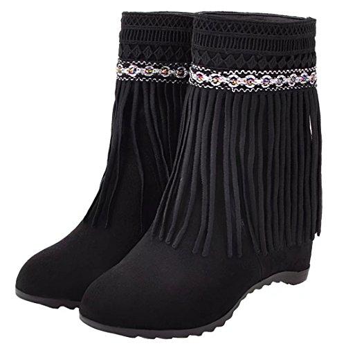 Classic Women's AIYOUMEI Black Boot AIYOUMEI Black Boot Classic Women's Women's Classic AIYOUMEI 4dqa56c4Zw