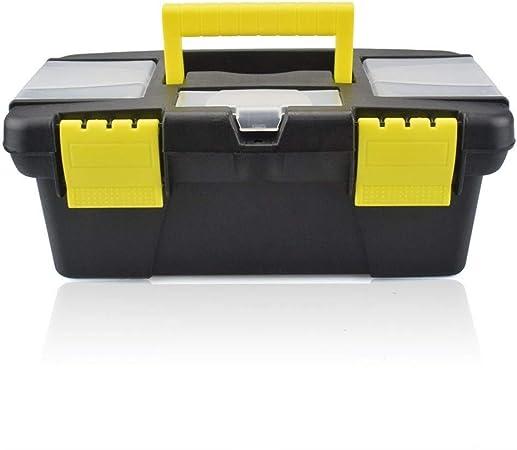 Caja de almacenamiento de herramientas Mini caja de herramientas con compartimento for manijas Organizadores de almacenamiento Caja de herramientas Hardware Herramientas Soldador Accesorios Caja de he: Amazon.es: Hogar