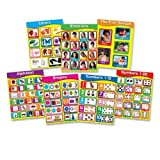 Wholesale CASE of 10 - Carson Early Childhood Learning Charlet Set-Early Learning Chart, 7/ST