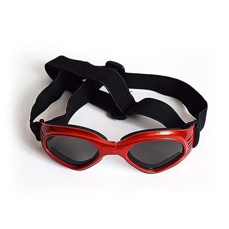 Newhaa Gafas de Sol para Mascotas Gafas para Perros Correa ...