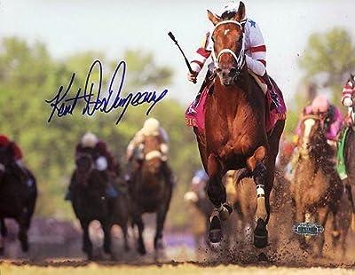 "Kent Desormeaux Kentucky Derby 2008 Autographed/Signed 16x20 ""The Close Up"" Photo"