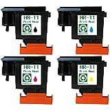 Tyjtyrjty Printhead Print Head Replacement for Hp 11 Printhead for Hp Inkjet Designjet Printers