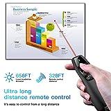 Qui Presentation Clicker Pointer, 328FT Wireless