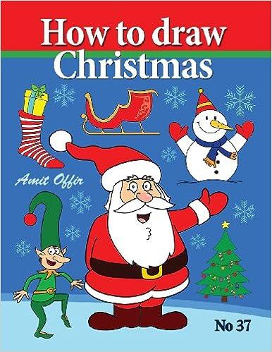 Christmas Cartoon Drawings.How To Draw Christmas Drawing Books Comics And Cartoon