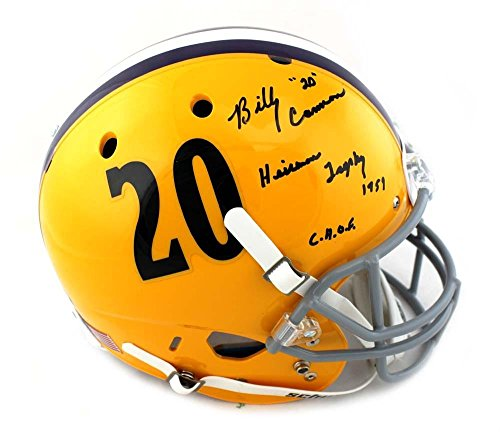 Radtke Sports Billy Cannon Signed LSU Tigers Schutt Yello...