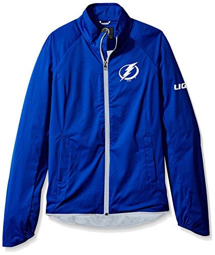 GIII For Her NHL Tampa Bay Lightning Women's Batter Light Weight Full Zip Jacket, Large, ()