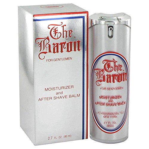 The Baron Cologne by Ltl Fragrances for Men. Moisturizer And Aftershave Balm 2.7 Oz / 80 Ml. 195819
