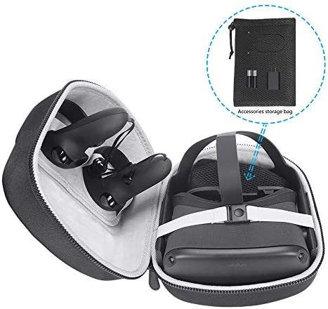 MASiKEN ハードEVAケース Oculus Quest オールインワン VRゲームヘッドセット用 - トラベルケース 保護バッグ