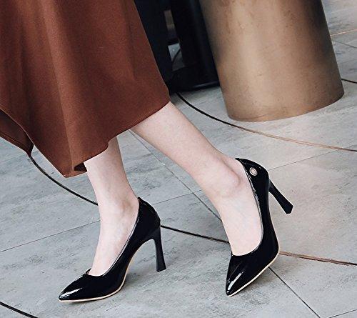 Escarpins Pointu Noir Femme Bout Bal Original Aisun Style Nouveau 0qzZWBw
