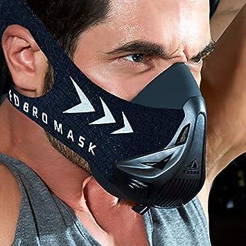 FDBRO Máscara deportiva - Simulación de gran altitud - Gimnasio, corazón, estado físico,