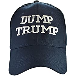 Dump Trump Hat Anti-Trump Navy Blue,One Size